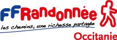 Randonnée en Occitanie, des Pyrénées à la Méditerranée Logo