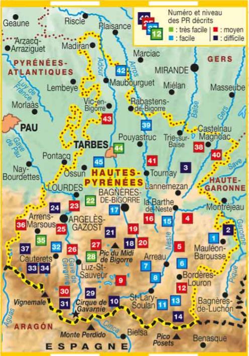 Les Hautes Pyrenees A Pied Randonnee En Occitanie Des Pyrenees A La Mediterranee